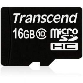 Memory Card / Kartu Memori Transcend microSDHC 16GB Class 10