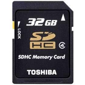 Memory Card / Kartu Memori Toshiba SDHC 32GB Class 4