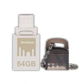 USB Flashdisk Strontium Nitro OTG SR64GSBOTG1 64GB