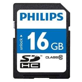 Kartu Memori Philips microSDHC Class 10 16GB