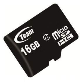 Team microSDHC Class 6 16GB