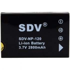 Baterai Kamera SDV NP-120 600mAh