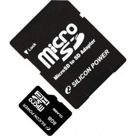 Silicon Power microSDHC with adapter 8GB