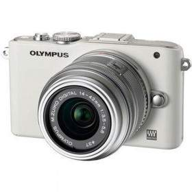 Mirrorless Olympus PEN Lite E-PL3 Kit