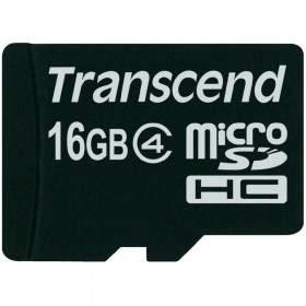 Memory Card / Kartu Memori Transcend microSDHC 16GB Class 4