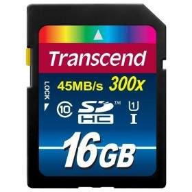 Transcend Premium microSDHC 16GB UHS-I Class 10 300x