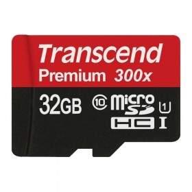 Transcend Premium microSDHC 32GB UHS-I Class 10 300x