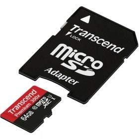 Memory Card / Kartu Memori Transcend Premium microSDHC 64GB UHS-I Class 10 300x