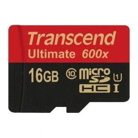 Transcend Ultimate microSDHC UHS-I 600x 16GB