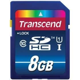 Memory Card / Kartu Memori Transcend Premium SDXC / SDHC 8GB UHS-I Class 10 300x