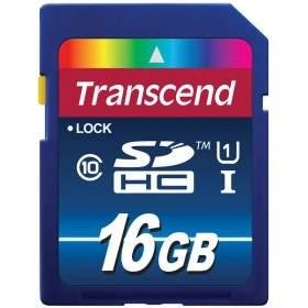 Memory Card / Kartu Memori Transcend Premium SDXC / SDHC 16GB UHS-I Class 10 300x