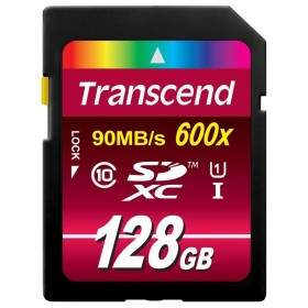 Transcend Ultimate SDXC / SDHC UHS-I 600x 128GB