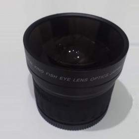 Filter Lensa Kamera OpticPro Fish Eye Converter 0.28x58mm
