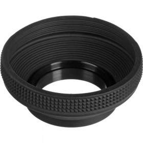 Lens Hood OpticPro Rubber 49mm