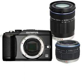 Mirrorless Olympus PEN E-PL1 Kit 14-42mm + 40-150mm