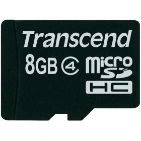 Memory Card / Kartu Memori Transcend microSDHC 8GB Class 4