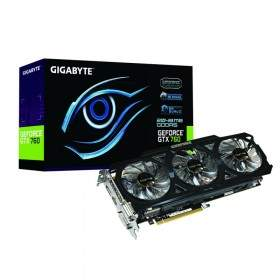GPU / VGA Card Gigabyte GeForce GT760 GV-N760OC-2GD 2GB GDDR5