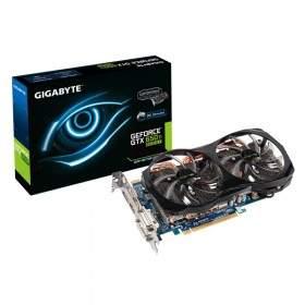 GPU Graphic card Gigabyte GeForce GTX650-Ti OC GV-N65TBOC-2GD 2GB GDDR5