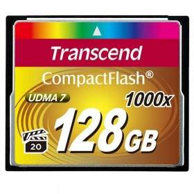 Transcend CompactFlash 1000x 128GB