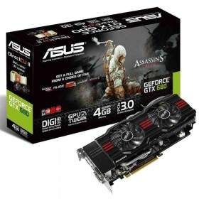 GPU / VGA Card Asus GeForce GTX 680 DC2 4GB GDDR5 256-bit