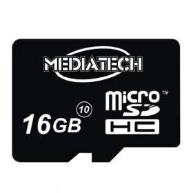 MEDIATECH MicroSDHC 16GB Class 10