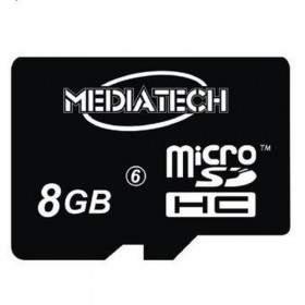 MEDIATECH MicroSDHC 8GB Class 6