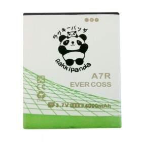 Baterai & Charger HP Rakkipanda Evercoss A7R 4000mAh