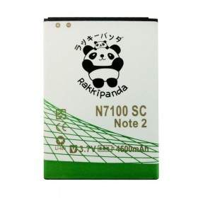 Baterai & Charger HP Rakkipanda Samsung Note 2 Slim 4500mAh