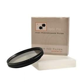 Filter Lensa Kamera OpticPro Fader ND 82mm