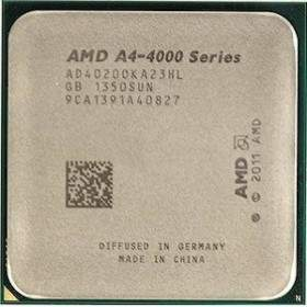 Processor Komputer AMD A4-4020 Trinity