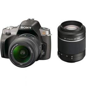 DSLR Sony A-mount DSLR A330Y Kit 18-55mm + 55-200mm