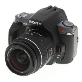 DSLR Sony A-mount DSLR A380Y Kit 18-55mm + 55-200mm