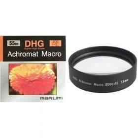 Filter Lensa Kamera Marumi DHG Achromat Macro 200(+5) 55mm