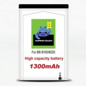 Baterai & Charger HP HIPPO Battery for Blackberry 8100 1300mAh