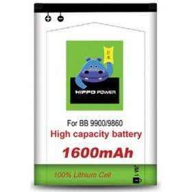 HIPPO Battery for Blackberry 9900 1600mAh