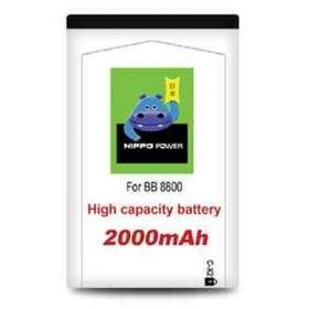 Baterai & Charger HP HIPPO Battery for Blackberry 8800 2000mAh