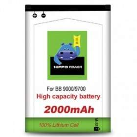 Baterai & Charger HP HIPPO Battery for Blackberry 9700 2000mAh