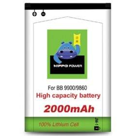 Baterai & Charger HP HIPPO Battery for Blackberry 9900 2000mAh