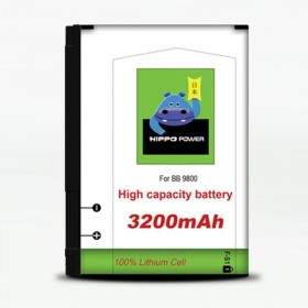 HIPPO Battery for Blackberry 9800 3200mAh
