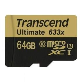 Memory Card / Kartu Memori Transcend Ultimate microSDHC UHS-I U3 633x 64GB
