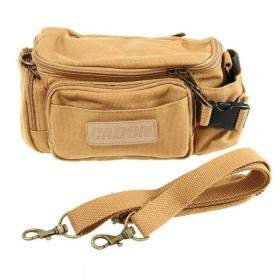 Tas Kamera Caden F0 Waterproof Vintage Casual Canvas