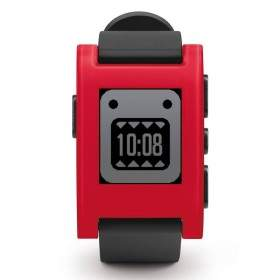 SmartWatch pebble Cherry Red
