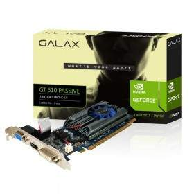 GALAX Geforce GT 610 Passive 1GB DDR3