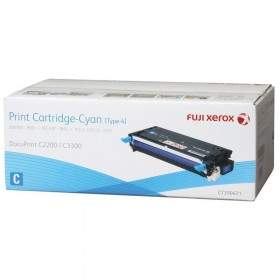 Toner Printer Laser Fuji Xerox CT350671 Cyan