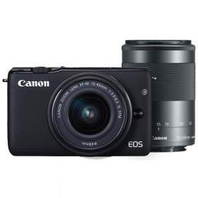 Mirrorless Canon EOS M10 Kit 15-45mm + 55-200mm