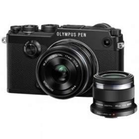 Mirrorless Olympus PEN-F Kit 17mm + 45mm