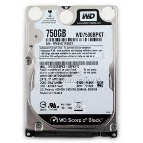 Harddisk Internal Komputer Western Digital Scorpio Black WD7500BPKT 750GB