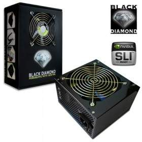 Power Supply Komputer Point Of View Black Diamond-500W