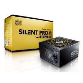 Power Supply Komputer Cooler Master Silent Pro Gold (RS-800-80GA-D3)-800W