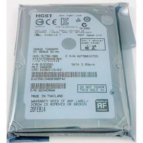 Harddisk Internal Komputer HGST Travelstar 7K750 500GB